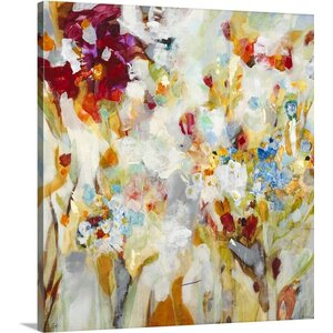 'Piquant' by Jill Martin Painting Print on Wrapped Canvas by Great Big Canvas