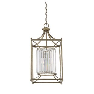 Fonteyne 1-Light Foyer Pendant by Willa Arlo Interiors