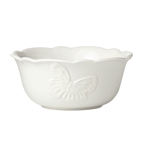 Meadow® 24 oz. Butterfly Carved All Purpose Bowl by Lenox