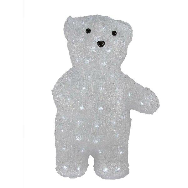 Pre-lit Commercial Grade Acrylic Polar Bear Christmas Lighted Display by The Holiday Aisle