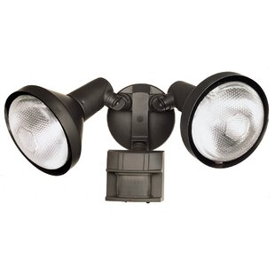 Best Choices DualBrite Flood 2-Light Outdoor Spotlight By Heathco