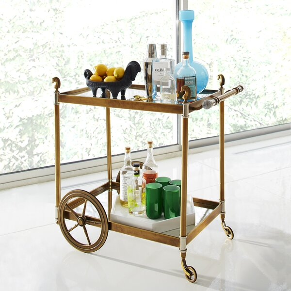 Jacques Cheval Bar Cart by Jonathan Adler