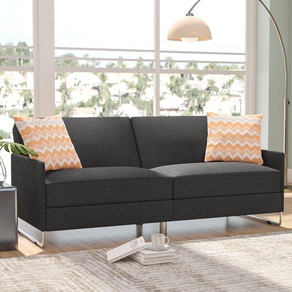 Looking for Callion Convertible Sofa By Wade Logan Great price