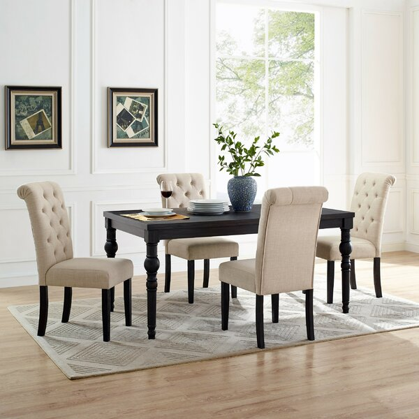 Evelin Dining Table by Charlton Home