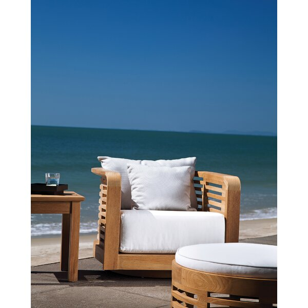 Hamilton Teak Patio Chair with Cushions by OASIQ