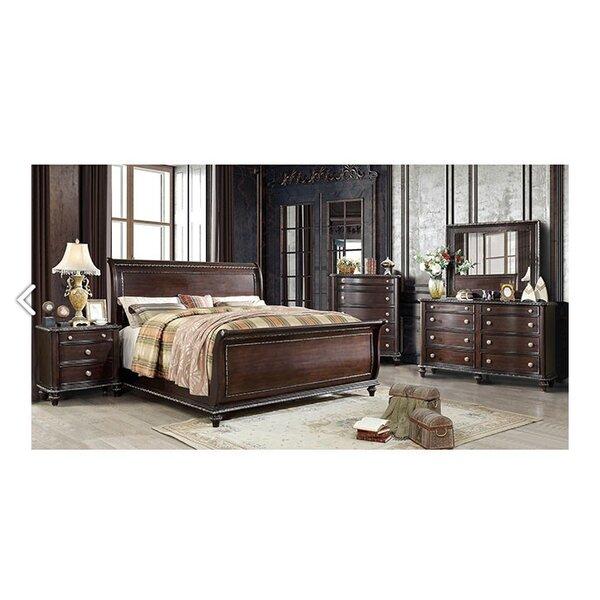 Maximilian Sleigh Configurable Bedroom Set by Astoria Grand