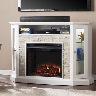 Affordable Price Montpelier TV Stand for TVs up to 50 with Fireplace By Alcott Hill