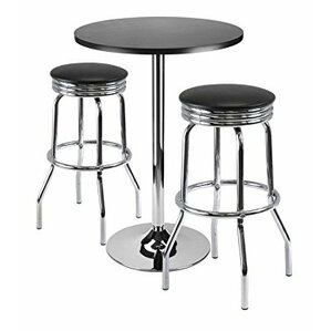 Summit 3 Piece Pub Table Set by Luxury Home