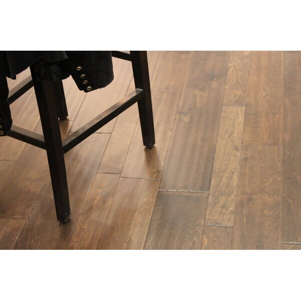 Random Width Engineered Birch Hardwood Flooring in Bold by Albero Valley
