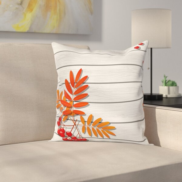 Freshness Growth Ecology Square Pillow Cover by East Urban Home