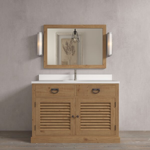 Riley 48 Single Bathroom Vanity Set by Loon Peak