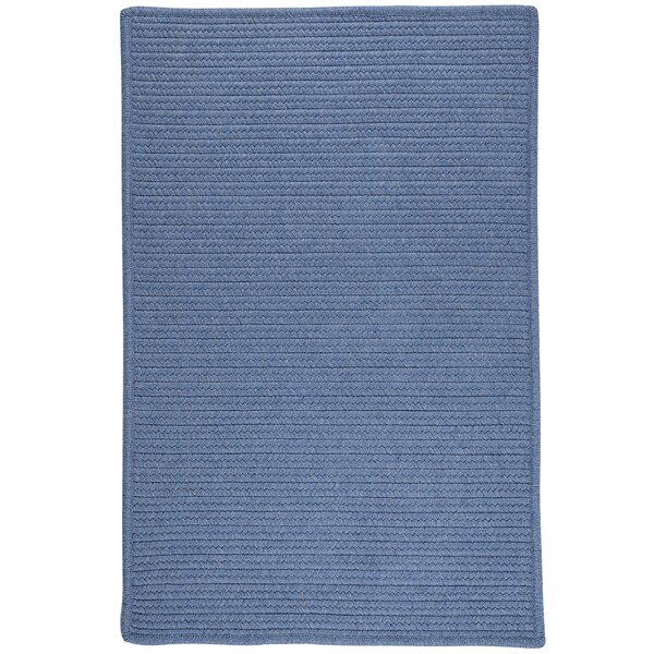 Hopseed Hand-Woven Blue Indoor/Outdoor Area Rug by Bay Isle Home