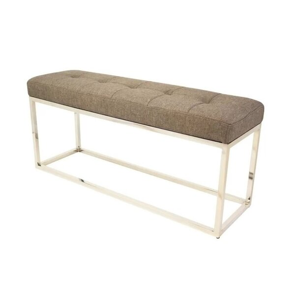 Jamil Upholstered Bench by Orren Ellis