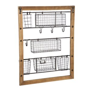 Other Architectural Antiques Genuine Vintage Industrial Architectural Salvage Wire Mesh Cage Wall Mount Shelf Available In Various Designs And Specifications For Your Selection Architectural & Garden