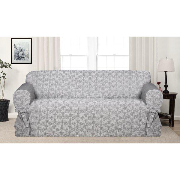 Box Cushion Sofa Slipcover By Astoria Grand