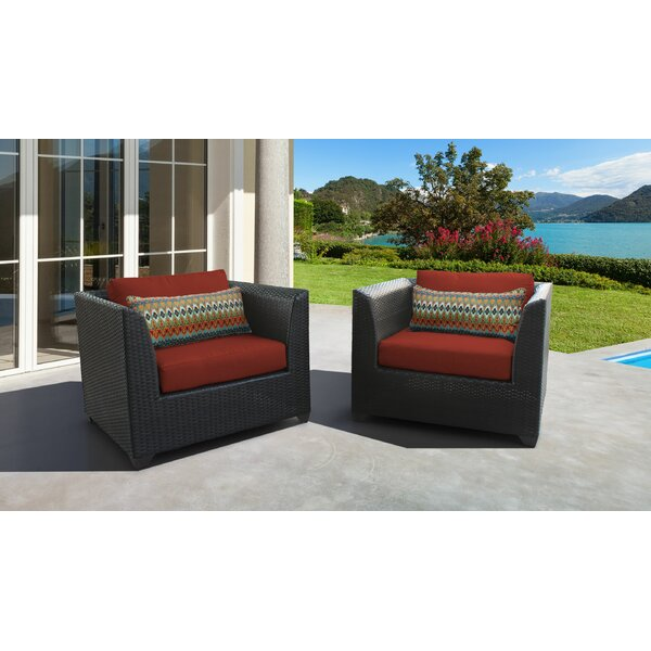 Tegan Patio Chair with Cushions (Set of 2) by Sol 72 Outdoor