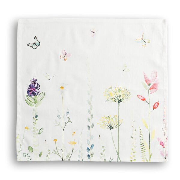 Botanical Fresh Napkins (Set of 4) by Maison d' He