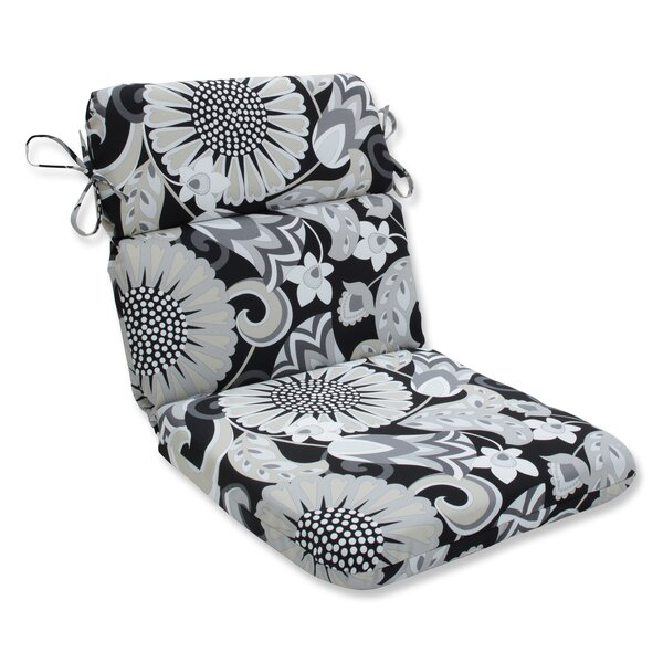 Sophia Rounded Corner Indoor/Outdoor Dining Chair Cushion by Pillow Perfect