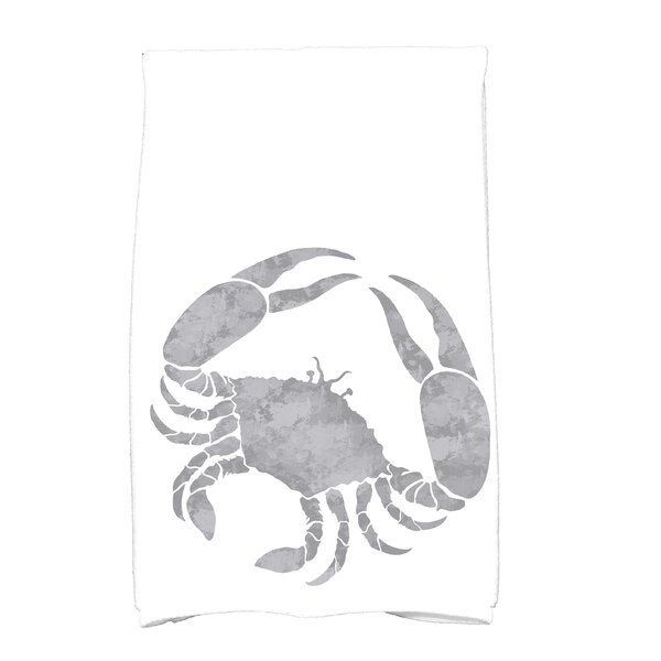 Crab Cotton Hand Towel by Highland Dunes