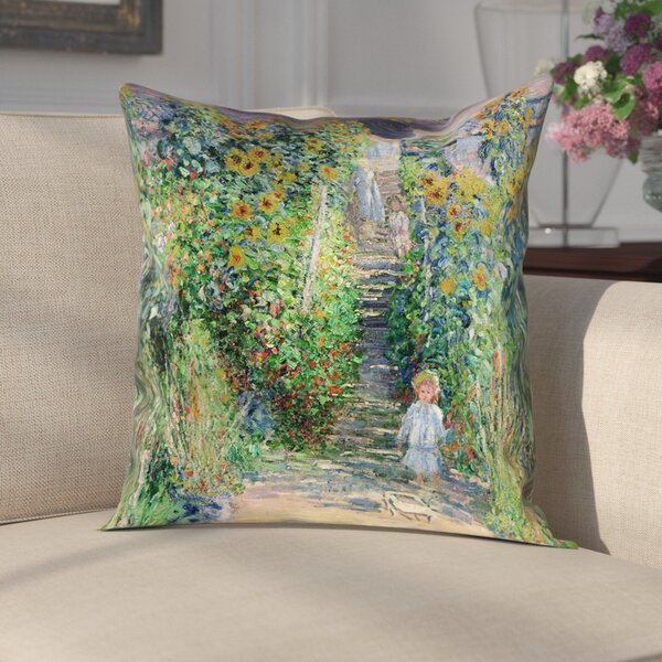 Gerwalt Flower Garden Linen Pillow Cover by Darby Home Co