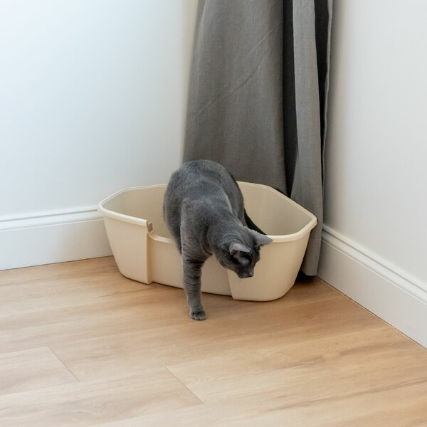Corner Litter Box by IRIS USA, Inc.