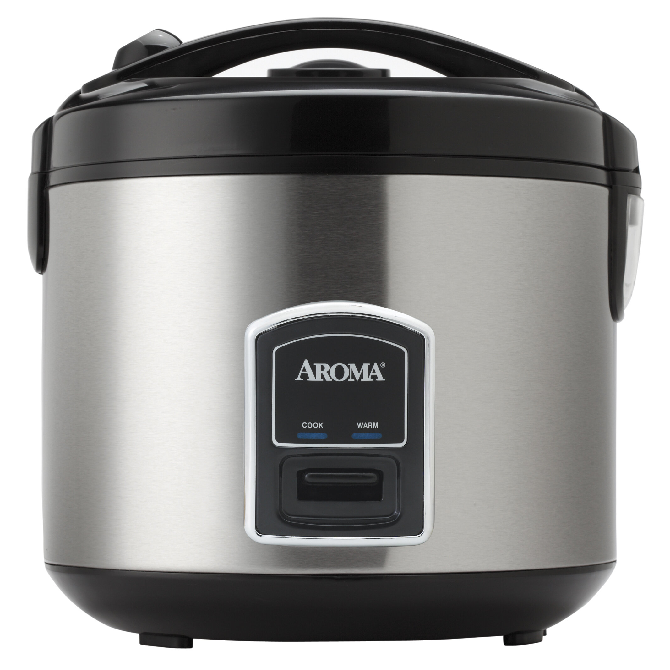 Aroma 60 Cup Commercial Rice Cooker Big Large Business Restaurant Countertop New