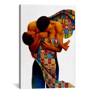 Sheltering Love by Keith Mallett Graphic Art on Canvas by iCanvas