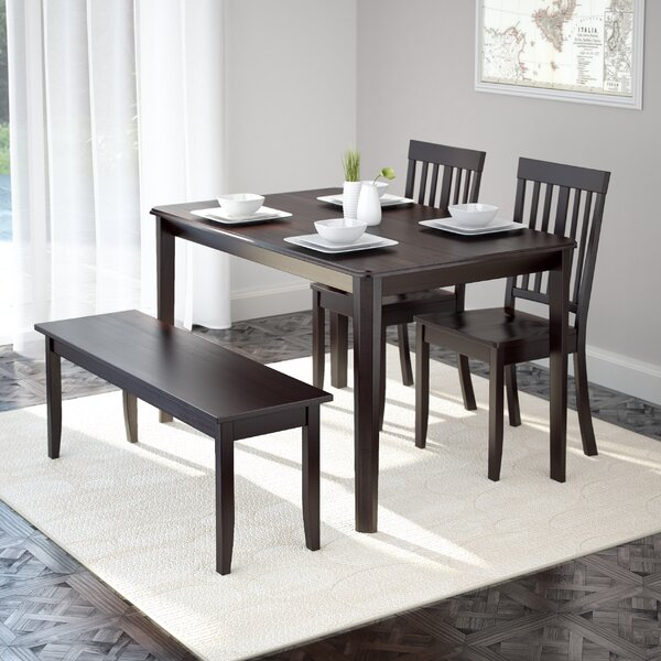 Dunster 4 Piece Dining Set by Darby Home Co