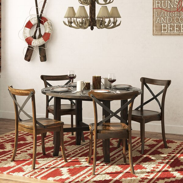 Massanutten 5 Piece Dining Set by Loon Peak