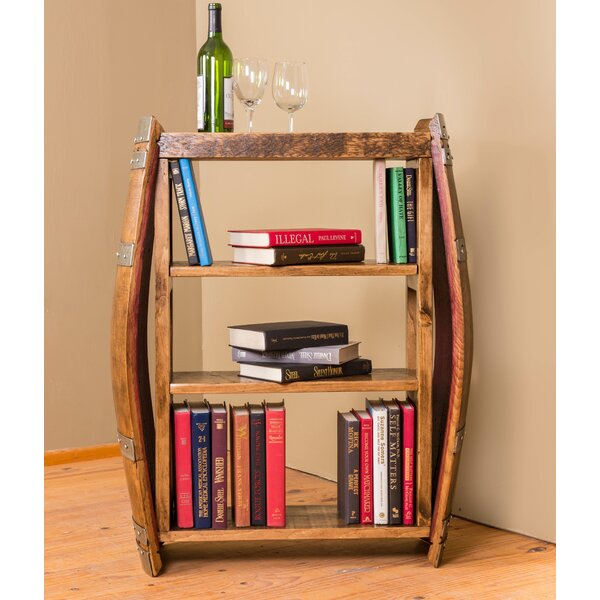 Wine Barrel Standard Bookcase by Napa East Collection