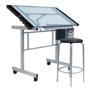 Compare Vision Drafting Table and Chair Set by Offex