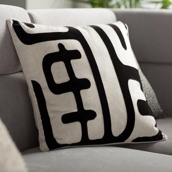 Linen/Cotton Blend Throw Pillow (Set of 2) by Wade Logan