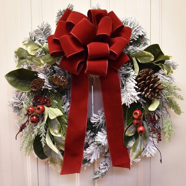 The Holiday Aisle Winter 24 Wreath Wayfair