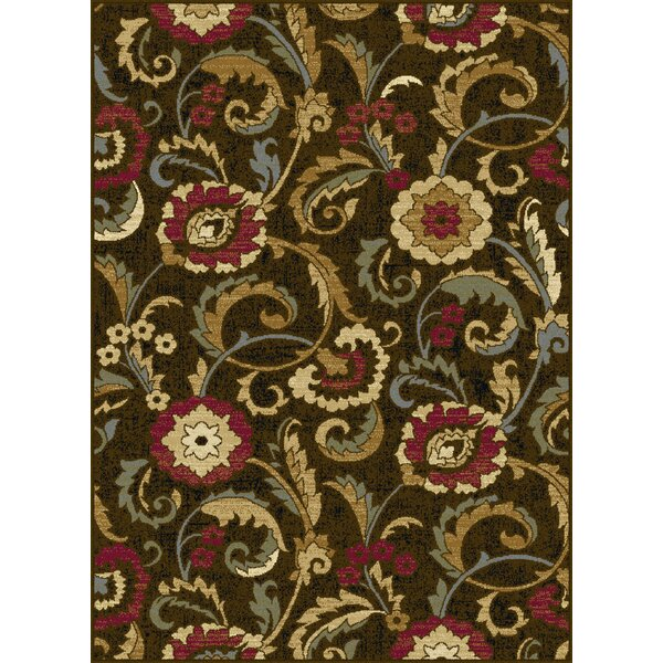 Gulledge 3 Piece Brown Area Rug Set by Alcott Hill
