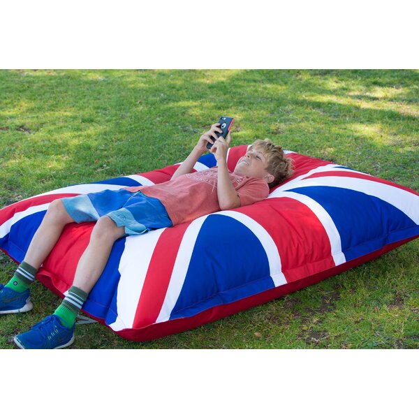 Union Jack Bean Bag Lounger by HRH Designs