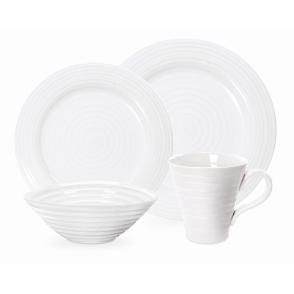 Sophie Conran 4 Piece Place Setting, Service for 1 by Portmeirion