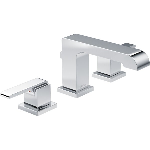 Ara Widespread Bathroom Faucet and Diamond™ Seal Technology by Delta