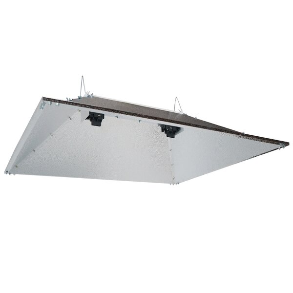 Double Ended Open Hood Horticulture Reflector by Hydroplanet