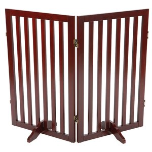 Convertible Wooden Dog Gate Extension