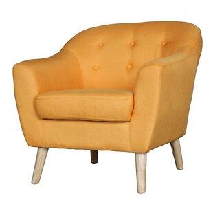 Yellow Mid Century Chair | Wayfair