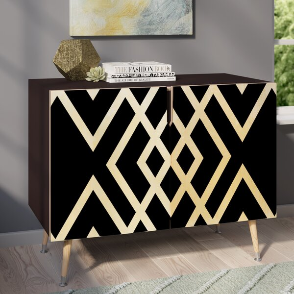 Jesse Inbetween Accent Cabinet by Wade Logan Wade Logan