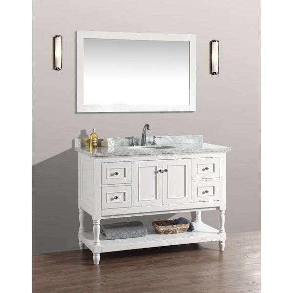 @ 48 Single Bathroom Vanity Set with Mirror by Birch Lane™| #$1,800.00!