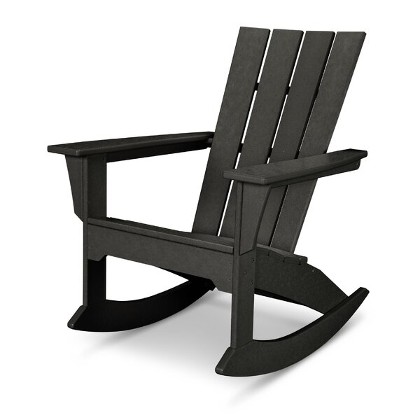 Quattro Plastic Rocking Adirondack Chair by POLYWOOD®
