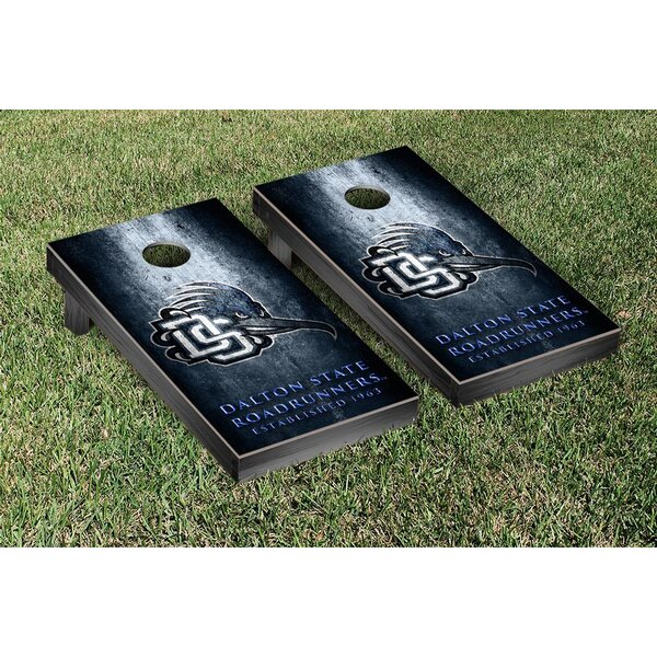 NAIA Dalton State Roadrunners Metal Version Cornhole Game Set by Victory Tailgate