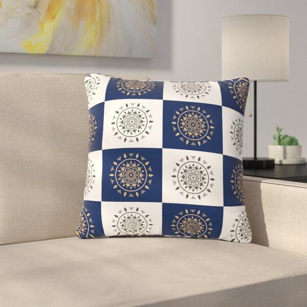 Cristina Bianco Mandalas Outdoor Throw Pillow by East Urban Home