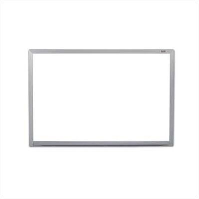 Pro-Rite Wall Mounted Magnetic Whiteboard by Marsh