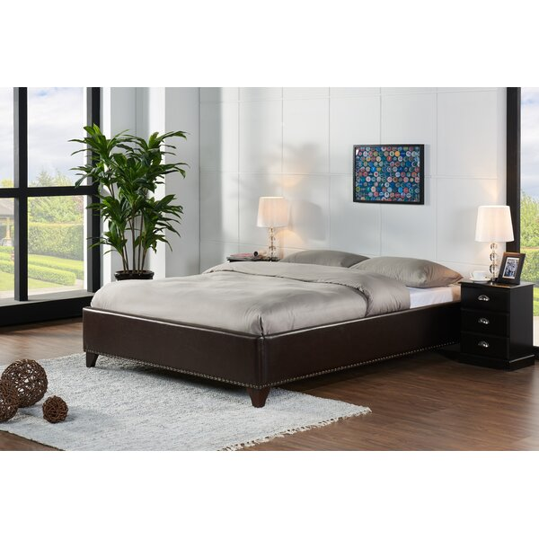Glenford Upholstered Platform Bed by Charlton Home