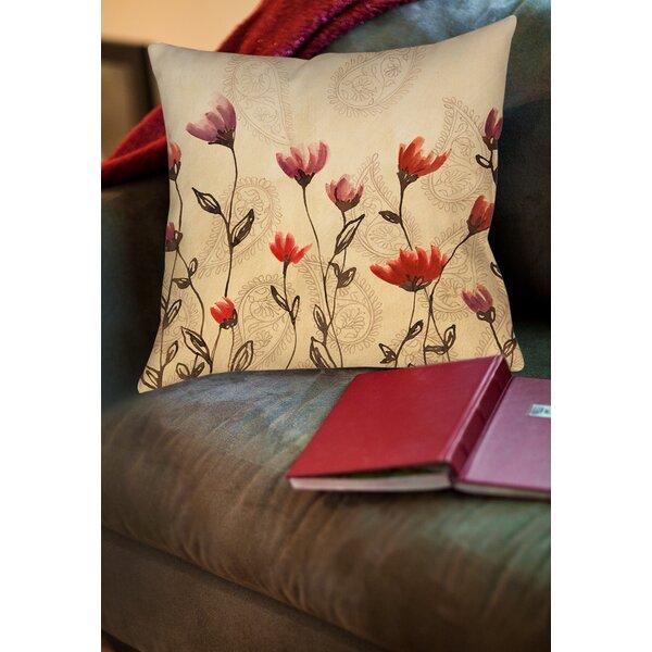 Keziah Printed Throw Pillow by Winston Porter| @ $23.99