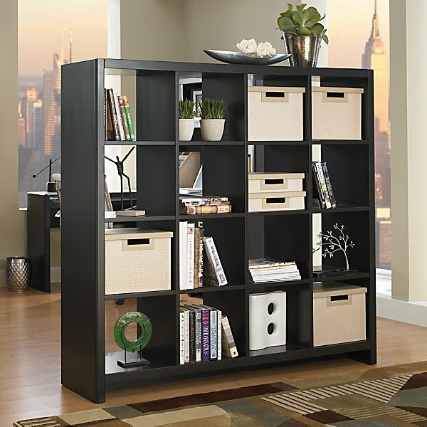 New York Skyline Cube Unit Bookcase by Kathy Ireland Office by Bush