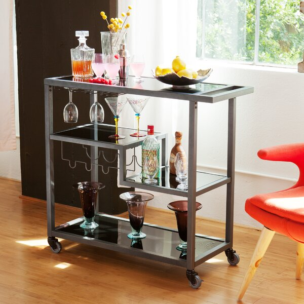 Aguila Bar Cart By Mercury Row.